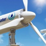 Wind Turbine Generates Electricity and Harvests 1200 Liters of Water Daily